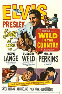 """Wild in the Country"" - 1961 Directed by Philip Dunne; 