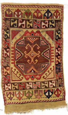 Konya Rug, Central Anatolia, second half 19th century, 5 ft. 6 in. x 3 ft. 6 in. | Skinner Auctioneers Sale 2276