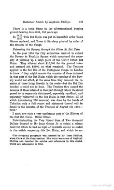 Naphtail Phillips remberances.. American Jewish Historical Quarterly