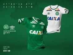 Camisas da Chapecoense 2016-2017 Umbro