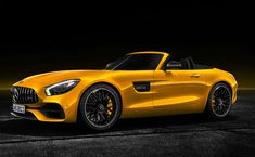 Mercedes-AMG is extending its sports car portfolio by bringing in the new AMG GT S Roadster. With this latest addition, the AMG GT family now has a dozen members under performance brand. Mercedes Benz Amg, Mercedes Car, Roadster, Sports Models, Best Muscle Cars, Maybach, Car In The World, Sport Cars, Motor Car