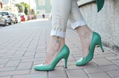 Look of the day: Green Ice - SCENT OF OBSESSION - fashion blogger, outfit, travel and beauty tips