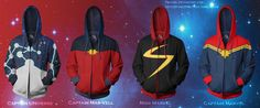 Captain Universe/Captain Mar-Vell/Miss Marvel by prathik.deviantart.com on @DeviantArt