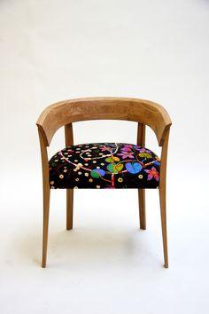 AliceChairFloral2 - Josef Frank fabric