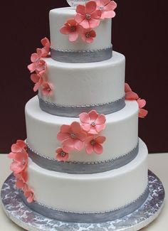 Silver with Peach Blossom by Alliance Bakery, via Flickr