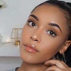 Makeup For Black Skin, Makeup Eye Looks, Black Girl Makeup, Girls Makeup, Glam Makeup, Beauty Makeup, Bright Makeup, Eyebrow Makeup Tips, Contour Makeup