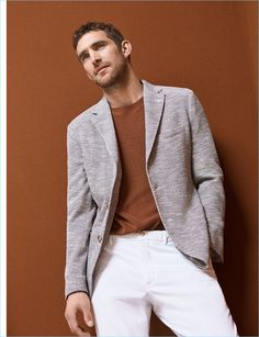 Dressed to impress, Will Chalker wears Massimo Dutti.