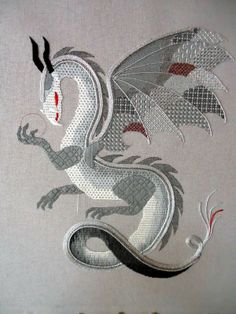 Dragon wip - I love this and would love to buy the pattern.  If anyone knows where I can buy it, please comment.  Thanks!