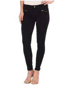 Level 99 Riley Skinny Moto w/ Ankle Zippers in Ink00 Ink00 - 6pm.com