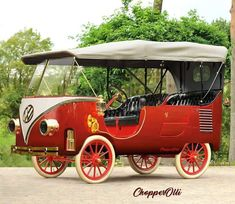 Volkswagen Bus becomes carriage - is there anything you CAN'T do with a VW?