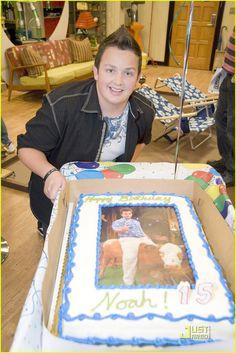 Noah Munck's 15th Birthday Cake #iCarly