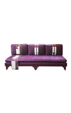 This bespoke Arab style Jalsa seating is one of our best selling custom products.   For when we say custom made in Desert Designs,  it definitely means  'Made with love'.  The Design is a fusion between traditional and modern style.  #homedecor #furniture #sofa #purple # ramadan #saudi