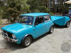 Stunning Towin Tuesday combo from down under! Love the Aussie Clubman.