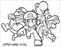 super-mario-coloring-pages