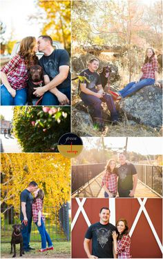 Family Fall Photos with Pets – Dog Holiday Pictures, Folsom Family Photographer - Green Vintage Photography