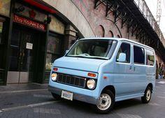 Kei Car, Vintage Vans, Smart Car, Sauce, Motor Car, Cars And Motorcycles, Honda, Passion, Bike