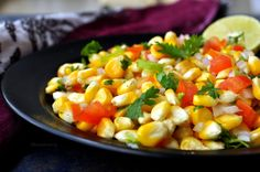 Tangy corn chaat is an Indian salad or snack , perfect for a lazy evening. The…