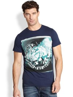 Diesel Short-Sleeve Mohican Graphic Tee | mens t-shirt | mens style | mens fashion | wantering