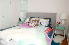 29th Avenue: A Colorful Master Bedroom Makeover Part II - The BIG Reveal!
