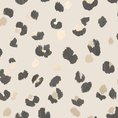 This nature inspired wallpaper puts a fun Scandinavian twist on the classic leopard print style. The spots are painted with a brush stroke effect and paired with metallic contrast, making this a gorgeous contemporary style living wallpaper. Grab your Feature Wallpaper, Book Wallpaper, Iphone Background Wallpaper, Aesthetic Iphone Wallpaper, Pattern Wallpaper, Kate Spade Wallpaper, Free Iphone Wallpaper, Iphone Wallpapers, Leopard Print Wallpaper