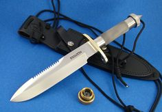 YOUWANTIT2 - RANDALL KNIFE MODEL 18-7 SS ATTACK AND SURVIVAL KNIFE
