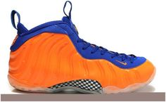 Air Foamposite One Blue Orange
