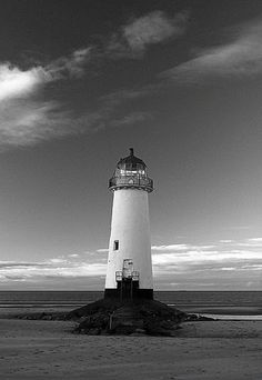 Talacre Lighthouse | Stu Worrall The lighthouse on Talacre beach, North Wales.