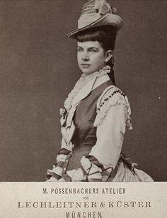 Archduchess Gisella of Austria, a daughter of Empress Elisabeth and Emperor Franz Josef