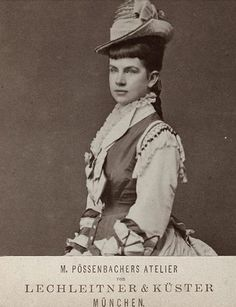 Archduchess Gisella of Austria, a daughter of Empress Elisabeth and Emperor Franz Josef