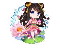No photo description available. Anime Angel Girl, Anime Art Girl, Cool Anime Wallpapers, Animes Wallpapers, Anime Chibi, Manga Anime, Miya Mobile Legends, Champions League Of Legends, Alucard Mobile Legends