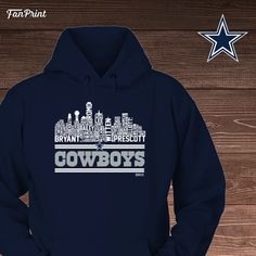 Check out these Dallas Cowboys Limited Edition shirts and other apparel! Click on the image. Have fun! :) - Dallas Cowboys - Skyline https://www.fanprint.com/cowboys-skyline?ref=5048