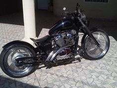 2001 Honda Shadow vt600 by Paulo Henrique Mamute / Bobber Inspiration | Bobbers & Custom Motorcycles