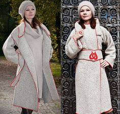 Lange Wintermantel Budapest Long Coat for von RoteTulpe auf Etsy