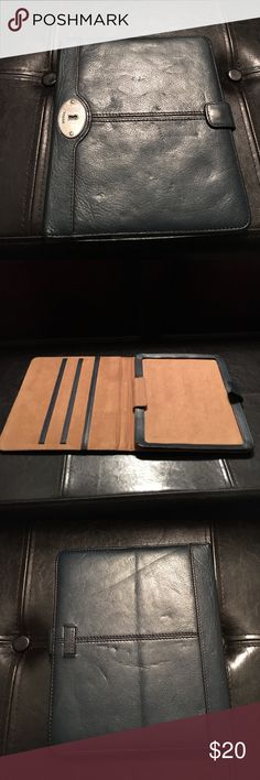 Fossil iPad case iPad case with snap closure Fossil Accessories Tablet Cases