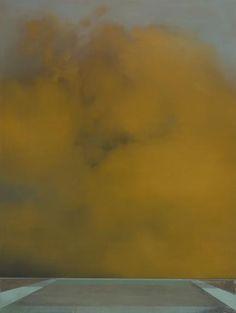 Christopher Saunders Whitenoise no.3, 2008 oil on linen