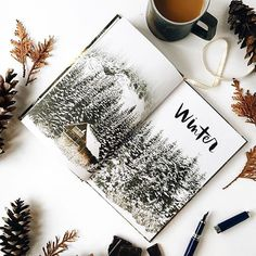 sketchbook // winter // etsy