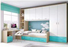 Kids bedroom boy blue