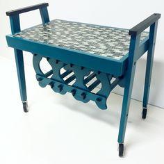 The perfect bar cart. #available at ETSY.com/shop/TWEAKITSHOP Tweak It Shop