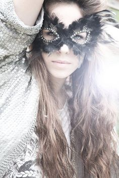it would be so cool to do a shoot where each girl had a different mask.