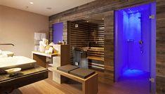 badkamer spa wellness   badkamer   Pinterest   Saunas