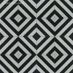 Cement Tile Shop - Encaustic Cement Tile Oxford III