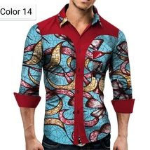 African Men Cotton clothing African ethnic wax printing Men's Shirt 7 Designs - African couple Cotton clothing African ethnic wax printing Skirt and Men's Shirt – Men's Clothing Source by - Latest African Wear For Men, African Shirts For Men, African Attire For Men, African Men Fashion, Africa Fashion, Ankara Fashion, African Women, African Print Shirt, African Print Dress Designs