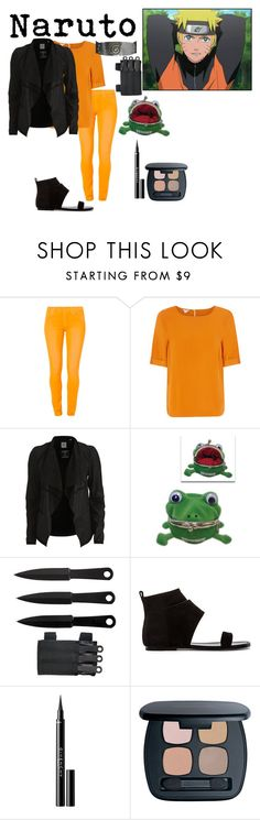 """Naruto Uzumaki"" by morgan-graves ❤ liked on Polyvore featuring 7 For All Mankind, Monsoon, Object Collectors Item, belle by Sigerson Morrison, Givenchy and Bare Escentuals"
