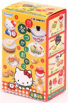 Hello Kitty Nostalgia Snack Re-Ment miniature blind box 2