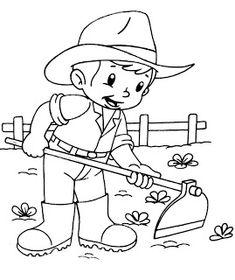 Pedagógiccos: Desenhos sobre a agrcultira Flower Coloring Sheets, Animal Coloring Pages, Colouring Pages, Coloring Books, Preschool Coloring Pages, Printable Coloring Pages, Coloring Pages For Kids, Art Drawings For Kids, Drawing For Kids