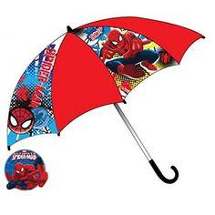 Niños Pantalla paraguas Spiderman, 65cm - http://comprarparaguas.com/baratos/marvel/ninos-pantalla-paraguas-spiderman-65-cm/
