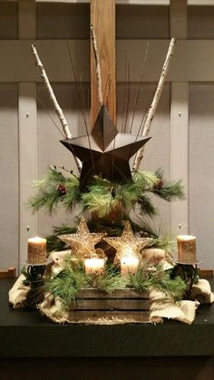 Christmas altar Redeemer UMC DeWitt, MI Note to self. Church Altar Decorations, Church Christmas Decorations, Christmas Stage, Christmas Flowers, Christmas Program, Modern Christmas, Holiday Decor, Christmas 2015, Outdoor Christmas