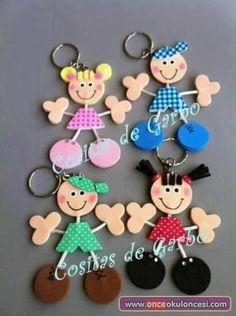 kids in fun foam Foam Crafts, Diy And Crafts, Crafts For Kids, Arts And Crafts, Paper Crafts, Do It Yourself Home, Creative Crafts, Handicraft, Art For Kids