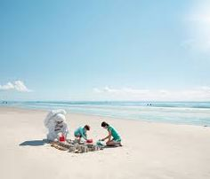 Image result for astronaut beach