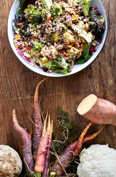 In the Kitchen: How to Eat Your Veggies in the Dead of Winter - Read more at our blog.